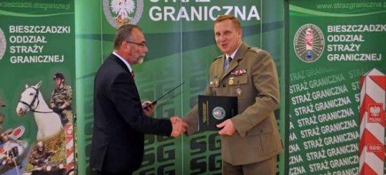 Politechnika Rzeszowska podpisała współpracę z Bieszczadzkim Oddziałem Straży Granicznej
