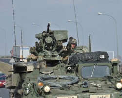 Amerykańskie wojsko przejechało przez Rzeszów [FOTO, VIDEO]